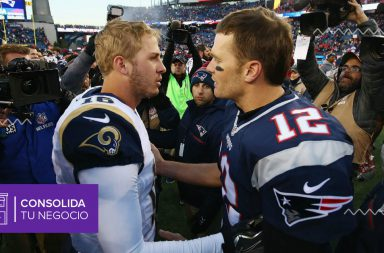 Tom Brady y Jared Goff de cara al Super Bowl 2019