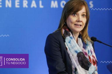 Mary Barra, presidenta de General Motors, empresa líder en la industria automotriz